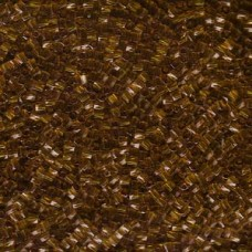 10 Twist Hex Cut 250 Gram Transparent Dk Amber (134)