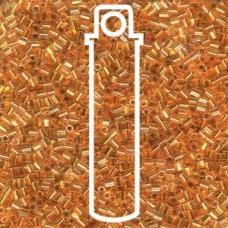 11/0 Seedbead Cut 24kt Gold Lined Crstl 24gm/tb (195)