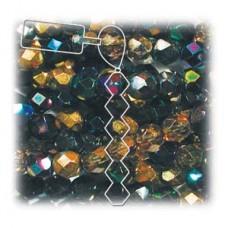 4mm Heavy Metals Mix 38 Bds Per Strand