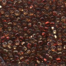6/0 Miyuki Sq Hole Rococo S/l Ruby Topaz-250gm (3272)