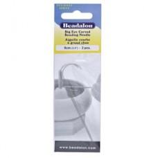 Curved Big Eye Needle (2) Flexible 3.5(12.7mm)