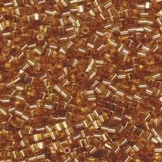 8/0 Cut S/l Gold Miyuki 250 Gram Bag (3)