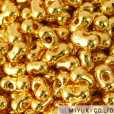 Berry 2.5 X 4.5mm 24kt Gld Plated- 50 Gm/bg (191)