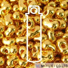 Berry 2.5 X 4.5mm 24kt Gld Plated- Apx 23gm/tb (191)