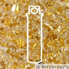 Berry 2.5 X 4.5mm 24kt Gld Lnd Crystal- Apx 23gm/tb (195)