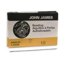 Needles Beading #10 25/pk(l4320-010)