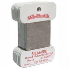 Silamide Thread A Ash Gry 40yd Crd