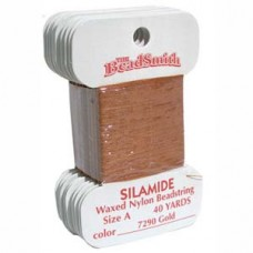 Silamide Thread A Golden 40yd Crd