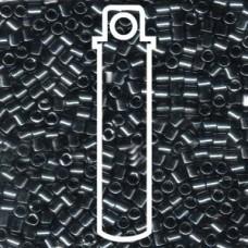 Delica 8/0 Gunmetal Apx 6.8gm (DBL-0001)