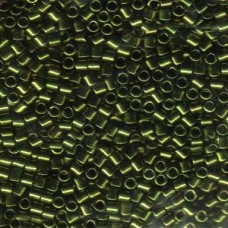 Delica Beads 8/0 Mettlc Olive 100 Gm Bag (DBL-0011)