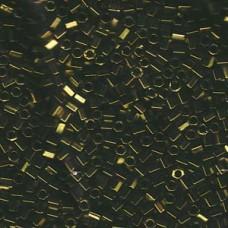 Hex Cut Delica 8/0 Metallic Olive 100 Gram Bag (DBLC-0011)