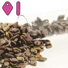 Dragon Scale Bead 1.5x5mm Metallic Mix-9.5gm/tb