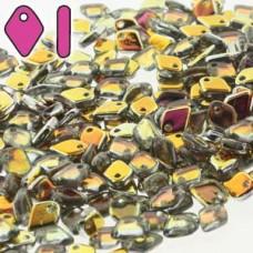 Dragon Scale Bead 1.5x5mm 50 Gm Crys Marea