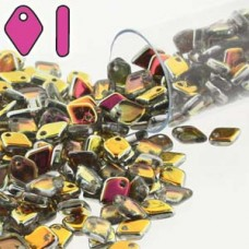 Dragon Scale Bead 1.5x5mm (crystal) Marea-9.5gm/tb