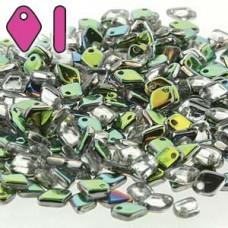 Dragon Scale Bead 1.5x5mm 50 Gm Vitrail