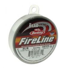 Fireline нити 4Lb 0,12мм Smoke Grey 45,72м