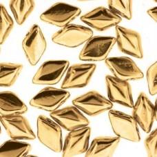 Gemduo 8x5mm 24 Karat Gold Plate 50 Gram Bag