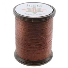 Hana Thread 330dtex = B Acorn Brown 100 Meter Spl