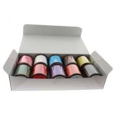 Hana Thread 330dtex = B Assorted Box 10 Colors