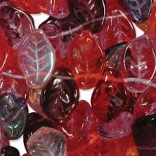 Leaf 9x14mm Mix Melonberry -per 100 Bds