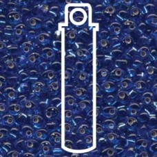 Magatamas 4mm S/l Sapphire -apx 24gm (19)