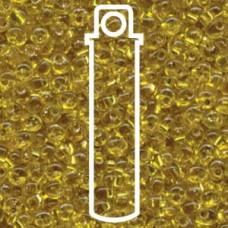 Magatamas 4mm S/l Yellow -apx 24gm (6)