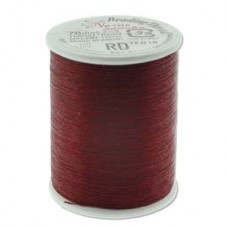 Nozue Sonoko 78dtex = 0 Beading Thread Red Spl