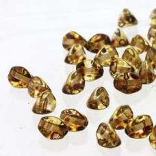 Pinch Bead 5mm Crystal Picasso-50bd/st-6st/bg