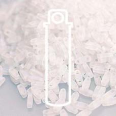 Quarter Tila Matte Transp Crystal Ab-aprx 7.2gm/tb (131FR)