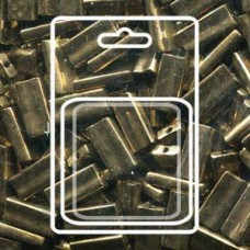 Rectangle 4x9mm Bronze Metallic -apx 17gm/cd (457)