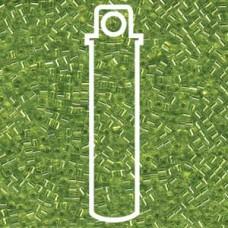 1.8mm Miyuki Cube S/l Chartreuse-aprx 8.2gm (14)