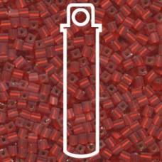 Matte S/l Flame Red Miyuki 3mm Cube Aprx 20gm/tb (10F)