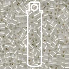 Matte S//l Crystal Miyuki 3mm Cube Aprx 20gm/tb (1F)