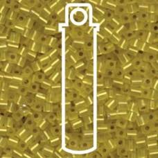 Matte S/l Yellow Miyuki 3mm Cube Aprx 20gm/tb (6F)
