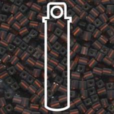 4mm Squares Matte S/l Dk Topaz-apx 20gm (005F)