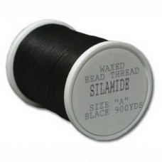 Silamide Thread A Blk 900yd Spl