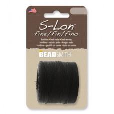 S-lon Fine Tex 135 118yd Black-1/cd