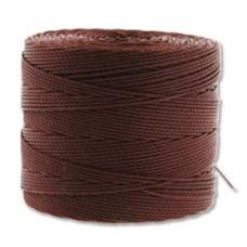 Tex 135 Superlon Fine Brown 118(yd Ea)- 4/tb