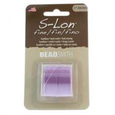 S-lon Fine Tex 135 118yd Light Orchid-1/cd