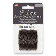 S-lon Macrame Tex 400 Black-1/cd