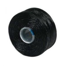 S-lon Bead Cord Tex 35 12/tb Black