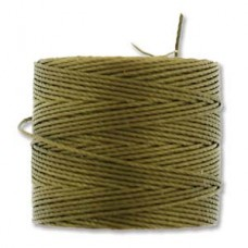 S-lon Bead Cord Antique Gold 77yd-tube Of 4