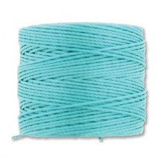 S-lon Bead Cord Aqua 77yd-tube Of 4