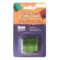 S-lon Bead Cord Tex 210 1/cd Avocado