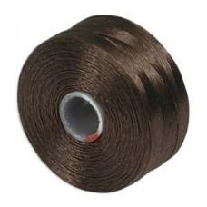 S-lon Bead Cord Tex 45 12/tb Brown