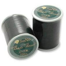 Sono Thread 330dtex = B Black 100 Meter 330dtex1