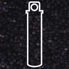 Miyuki Sharp Triangle 10/0 Matte Black Aprx 7.5 Gms (401F)