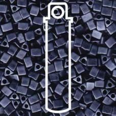 Miyuki Sharp Triangle 5/0 Matte Gunmetal Aprx 7 Gms (2001)