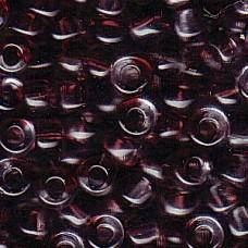 4mm Irrg Round 2 Tone Clear/ Amethyst 250 Grams (3903)