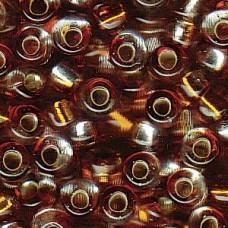 4mm Irrg Rnd 2 Tone S/l Clear/ Topaz-250 Gm (3932)
